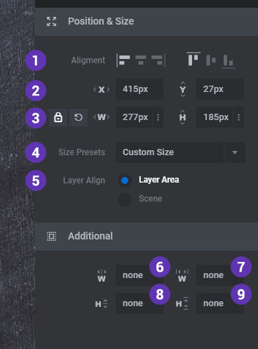 [Slider Revolution 6] Adjust the Size and Position of your Layer content
