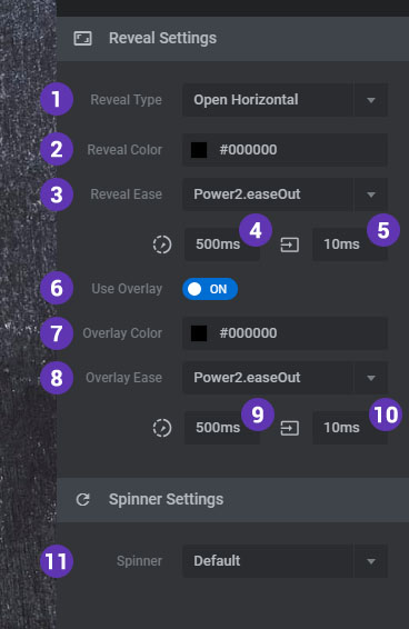 [Slider Revolution 6] Revealing effects for when your slider first loads