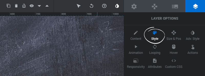[Slider Revolution 6] Adjust the CSS styling for your Layer Content