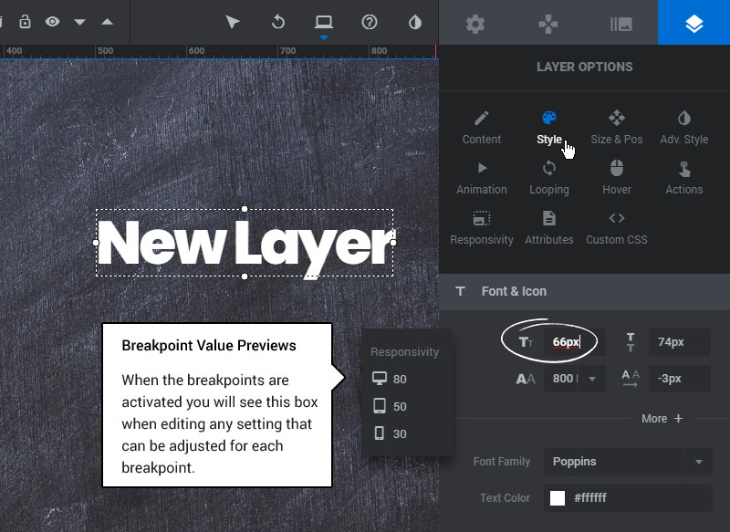 [Slider Revolution 6] If your slider's Layer content is not positioned or sized correctly, this can be fixed with a few settings adjustments.
